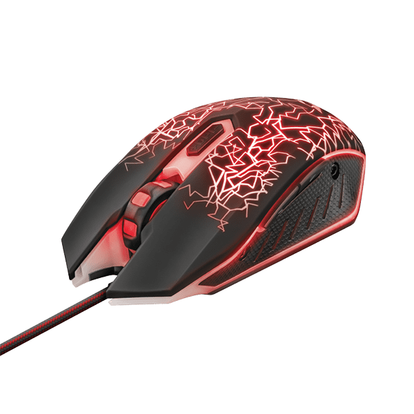 Trust GXT 105 Izza Illuminated Gaming Mouse