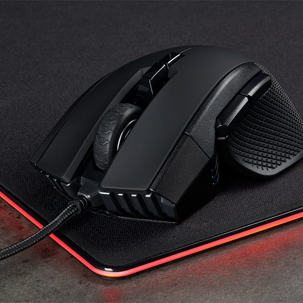 Corsair Ironclaw RGB, Optical, 18000 DPI Gaming Mouse