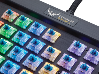 Corsair K70 RGB MK.2 Low Profile Rapidfire Gaming Keyboard