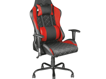 Trust GXT 707R Resto Gaming Chair (Red) - EOL