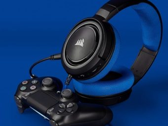 Corsair HS35 Stereo Gaming Headset - Blue