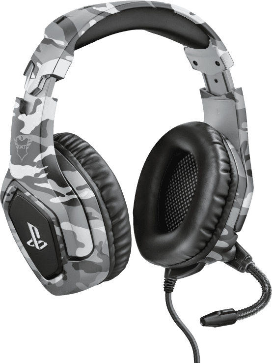Trust GXT 488 Forze PS4 Gaming Headset - Camo