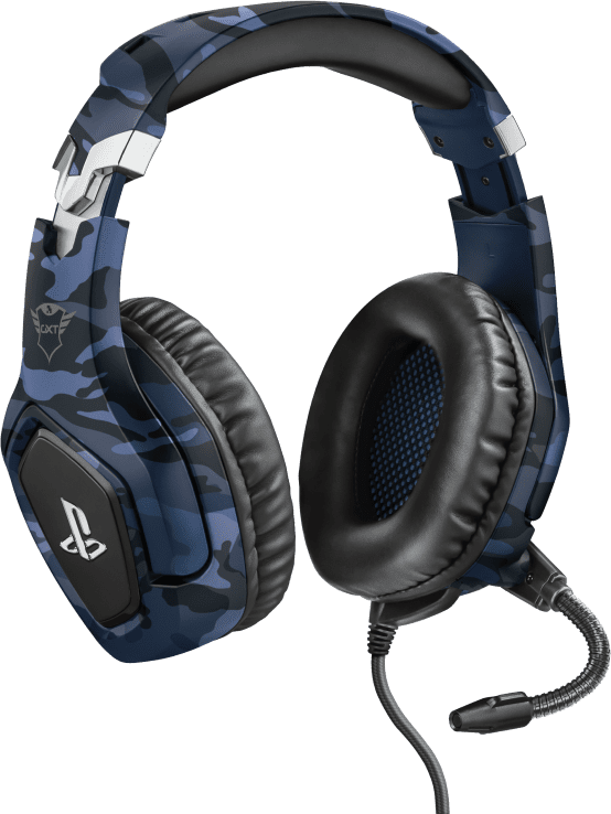 Trust GXT 488 Forze PS4 Gaming Headset - Blue Camo