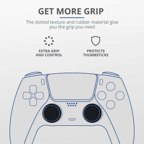 Trust GXT 266 4-pack Thumb Grips for PS5