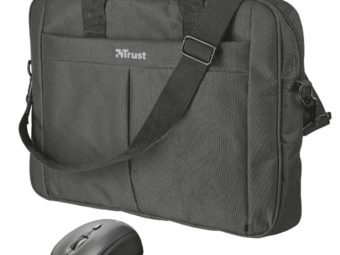 """Trust Primo Bag for 16"""" laptops with wireless mouse"""